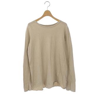 ドゥーズィエムクラス(DEUXIEME CLASSE)のドゥーズィエムクラス 19AW Tシャツ カットソー 長袖 ベージュ(Tシャツ(長袖/七分))