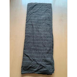 ムジルシリョウヒン(MUJI (無印良品))の未使用 無印良品 掛け布団カバー セミダブル(シーツ/カバー)