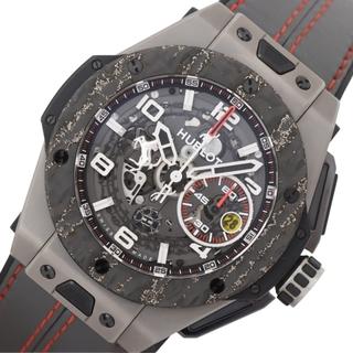 ウブロ(HUBLOT)のウブロ HUBLOT ビッグバン 腕時計 【中古】(レザーベルト)