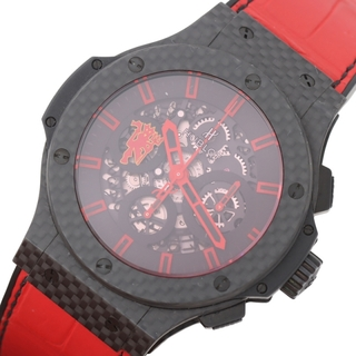 ウブロ(HUBLOT)のウブロ HUBLOT ビッグバン 腕時計 メンズ【中古】(レザーベルト)