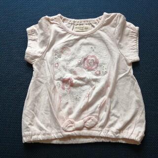 キムラタン(キムラタン)の新品 Tシャツ ビケットクラブ 80 女の子 半袖(Tシャツ)
