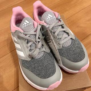 adidas - 値下げしました✨ 新品未使用 アディダススニーカー グレー  ピンク