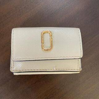 マークジェイコブス(MARC JACOBS)の【使用品】MARK JACOBS★SNAPSHOT 三つ折りミニ財布(財布)