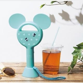 ミッキーマウス(ミッキーマウス)のミッキーマウス  ハンディ扇風機 InRed 付録 ディズニー(扇風機)