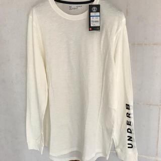 アンダーアーマー(UNDER ARMOUR)のアンダーアーマー シャツ XLサイズ ロンT オーバーサイズ ビッグサイズ(Tシャツ/カットソー(七分/長袖))