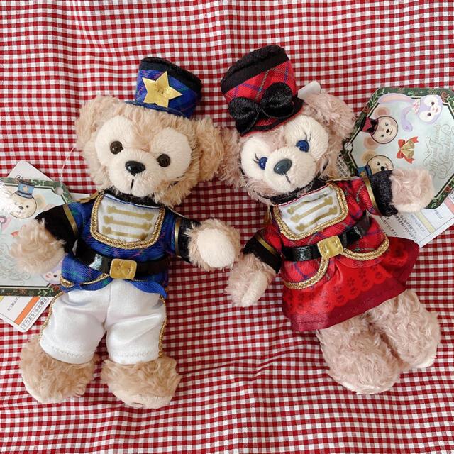 ダッフィー(ダッフィー)のもん様専用♡ディズニーシー♡ダッフイーメイちゃんくるみ割り人形ぬいぐるみバッチ♡ エンタメ/ホビーのおもちゃ/ぬいぐるみ(ぬいぐるみ)の商品写真