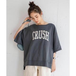 coen -  tシャツ Tシャツ USAコットンプリントビッグTスウェット