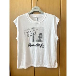 グレースコンチネンタル(GRACE CONTINENTAL)のRoertaフォトロゴノースリーブ(Tシャツ(半袖/袖なし))