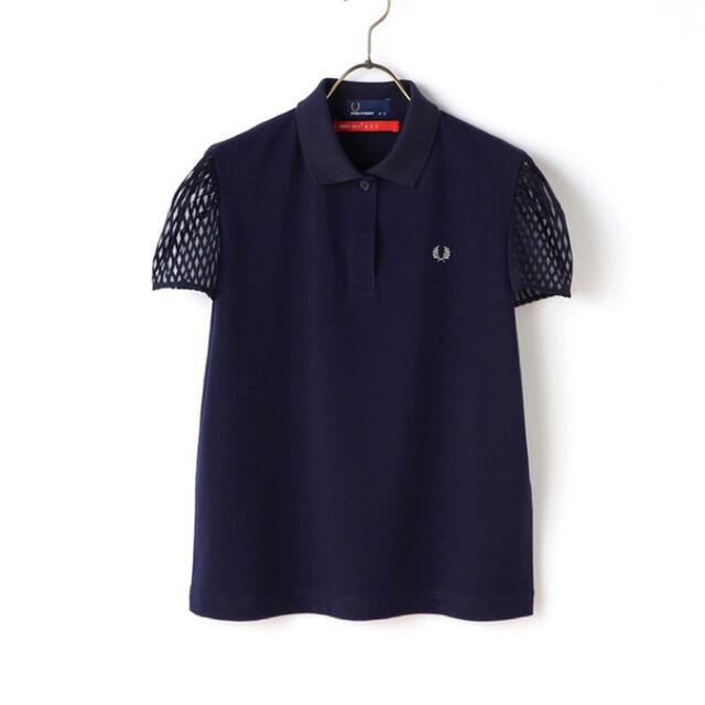 FRED PERRY(フレッドペリー)のMINTDESIGNS+FRED PERRY ポロシャツ レディースのトップス(ポロシャツ)の商品写真