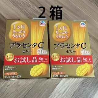 アース製薬 - 1ヵ月たっぷりうるおう プラセンタCゼリー お試し品 8g×31本入 マンゴー味