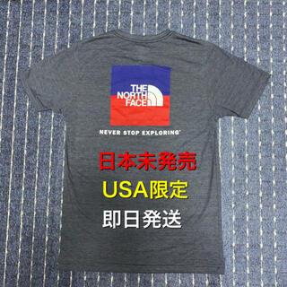 ザノースフェイス(THE NORTH FACE)のノースフェイス USA限定モデル ボックスロゴ カモフラ 日本未発売 Tシャツ(Tシャツ/カットソー(半袖/袖なし))
