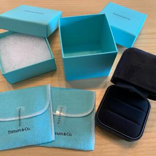 ティファニー(Tiffany & Co.)のTiffany ティファニー リングケース アクセサリー保存袋(ショップ袋)