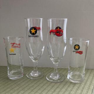 サッポロ(サッポロ)の新品 サッポロ レッドロブスターグラス(グラス/カップ)