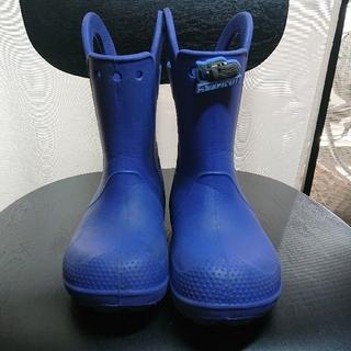 クロックス(crocs)のcrocs クロックス 長靴 レインシューズ 19cm(長靴/レインシューズ)