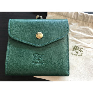 IL BISONTE - 【新品未使用】イルビゾンテ 二つ折り 財布 緑 グリーン