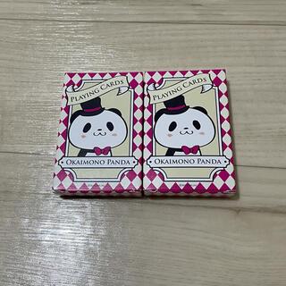 【未使用品】楽天 パンダ トランプ 2個セット(トランプ/UNO)