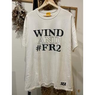 シー(SEA)の希少 #FR2×WIND AND SEA コラボTee  XL(Tシャツ/カットソー(半袖/袖なし))