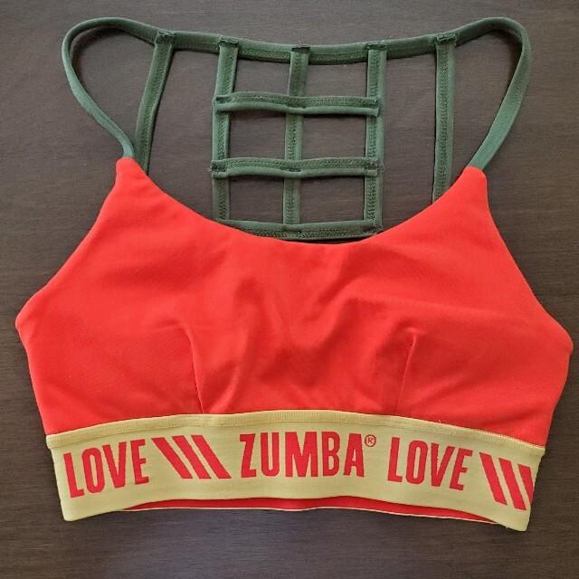 Zumba(ズンバ)のズンバ ブラトップ スポーツ/アウトドアのスポーツ/アウトドア その他(ダンス/バレエ)の商品写真
