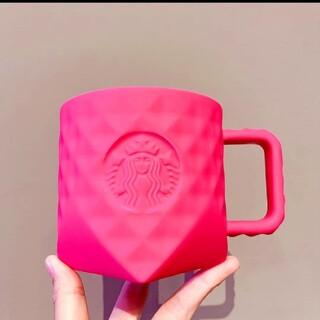 スターバックスコーヒー(Starbucks Coffee)のスターバックス中国限定夏 バービーピンク マグカップ(グラス/カップ)