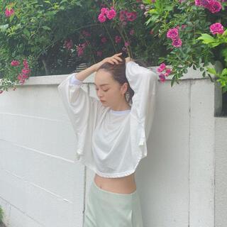 シールームリン(SeaRoomlynn)のオーバールーズシアートップス(Tシャツ/カットソー(半袖/袖なし))
