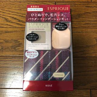 ESPRIQUE - エスプリーク  ピュアスキンパクト UV ピンクオークル PO205