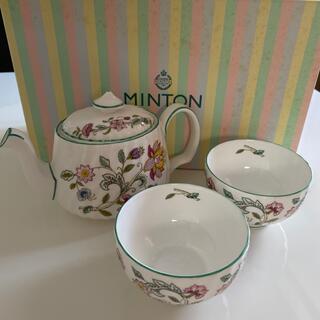 MINTON - ミントン ティーポットと湯飲みセット