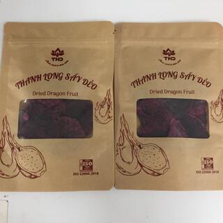 ドライレッドドラゴンフルーツ 2袋セット(フルーツ)