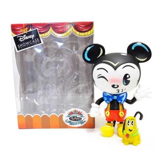 ミッキーマウス(ミッキーマウス)のディズニーショーケース☆Miss Mindy☆ミッキー&プルート フィギュア(キャラクターグッズ)