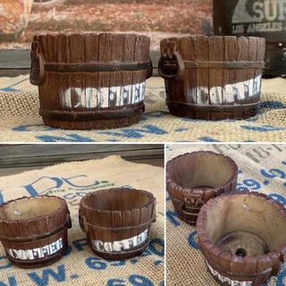 アメリカン コーヒー樽 Style/ 樽型プランター / mini size (プランター)
