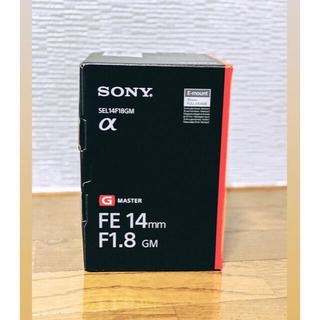 SONY - ソニー FE 14mm F1.8 GM SEL14F18GM