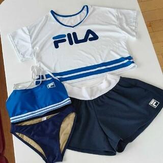 FILA - 新品タグ付き FILAフィラ水着4点セット