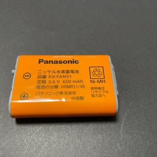 パナソニック(Panasonic)のPanasonic ニッケル水素蓄電池(バッテリー/充電器)