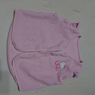 サンリオ(サンリオ)の子供服 パジャマ フリース サンリオ キティちゃん 90(パジャマ)