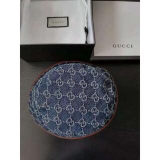 グッチ(Gucci)の人気【GUCCI】GG ジャカード キャンバスハット ブルー(ハット)