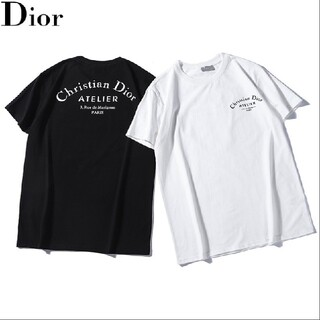 ☆Tシャツ新品☆2枚8000円☆Dior024☆(ディオール)在庫処分☆半袖(Tシャツ/カットソー(半袖/袖なし))