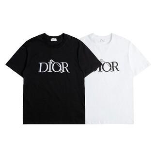 ☆Tシャツ新品☆2枚8000円☆Dior005☆(ディオール)在庫処分☆半袖(Tシャツ/カットソー(半袖/袖なし))