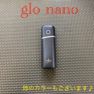 グロー(glo)のG2542番 glo nano 純正 本体  ネイビー(タバコグッズ)
