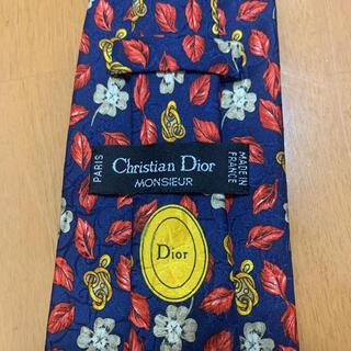 クリスチャンディオール(Christian Dior)のクリスチャン ディオール ネクタイ 花柄 正規品(ネクタイ)