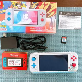 ニンテンドースイッチ(Nintendo Switch)のNintendo switch lite ポケモン(携帯用ゲーム機本体)