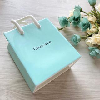 ティファニー(Tiffany & Co.)のTiffany&Co.ショップバック陶器オーナメント(食器)