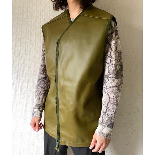Yohji Yamamoto(ヨウジヤマモト)のdead stock vintage 90s ukレーベル イギリス軍 ベスト メンズのジャケット/アウター(ミリタリージャケット)の商品写真