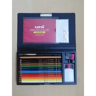 三菱鉛筆 - 三菱鉛筆 uni水彩色鉛筆 12色