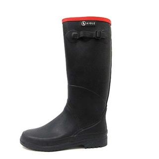 AIGLE - エーグル AIGLE レインブーツ ロング 長靴 黒 37 23.5cm
