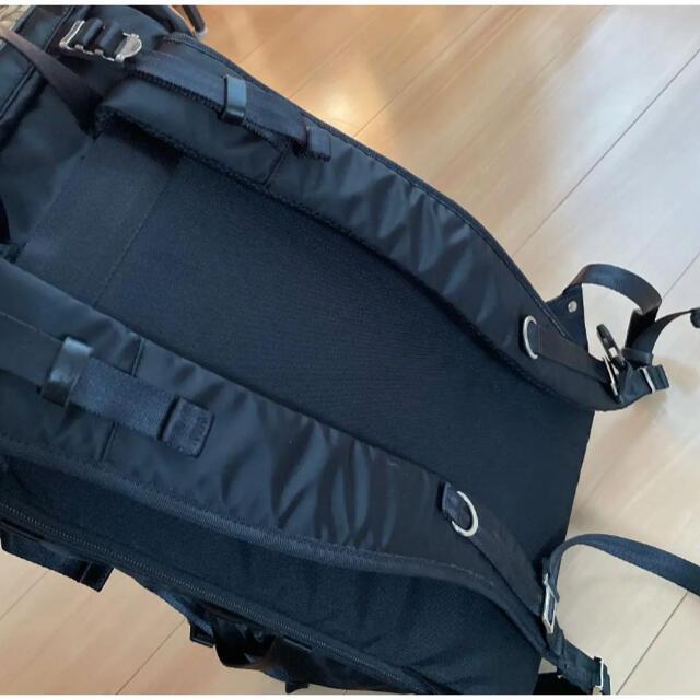 master-piece(マスターピース)の【値下げ中】マスターピース Lightning リュックサック 黒 バッグパック メンズのバッグ(バッグパック/リュック)の商品写真