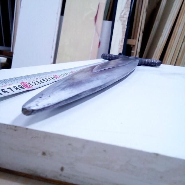 模造刀 未塗装 【FRP(樹脂)製 ネオジム磁石内蔵 装飾用 コスプレ用】 エンタメ/ホビーのコスプレ(小道具)の商品写真