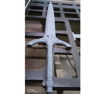 模造刀 未塗装 【FRP(樹脂)製 ネオジム磁石内蔵 装飾用 コスプレ用】(小道具)