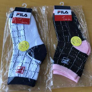 フィラ(FILA)のフィラ 靴下 レディース(ウェア)
