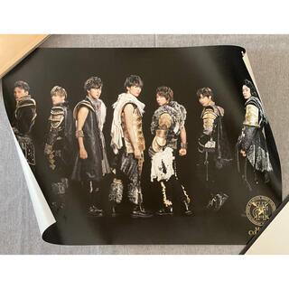 ジャニーズ(Johnny's)のKis-My-Ft2  MUSIC COLOSSEUM  ポスター(アイドルグッズ)