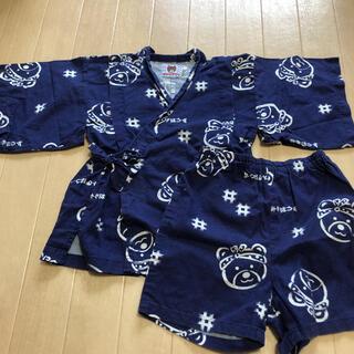 ミキハウス(mikihouse)のMIKIHOUSE 甚平 110cm ミキハウス(甚平/浴衣)