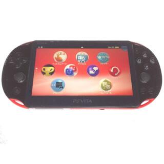 PlayStation Vita - 【良品】PlayStation®Vita レッドブラック WiFi 2000